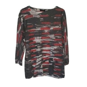 Nally & millie long sleeve blouse light sweater